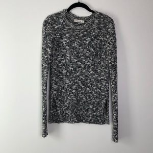 Abercrombie & Fitch l Black Gray & White Sweater